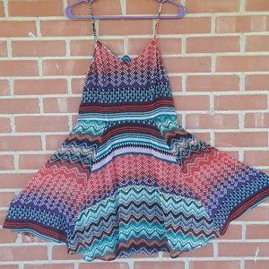 FIRE Los Angeles swing dress, sz L